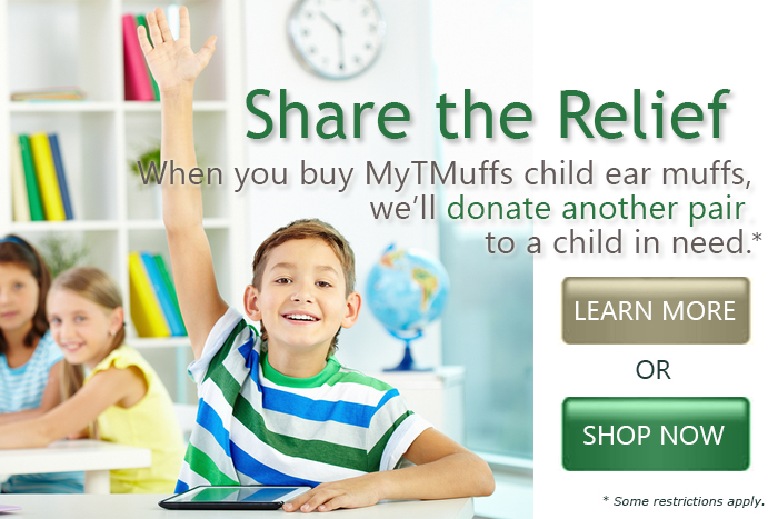 Share the Relief - Donating Child Ear Muffs
